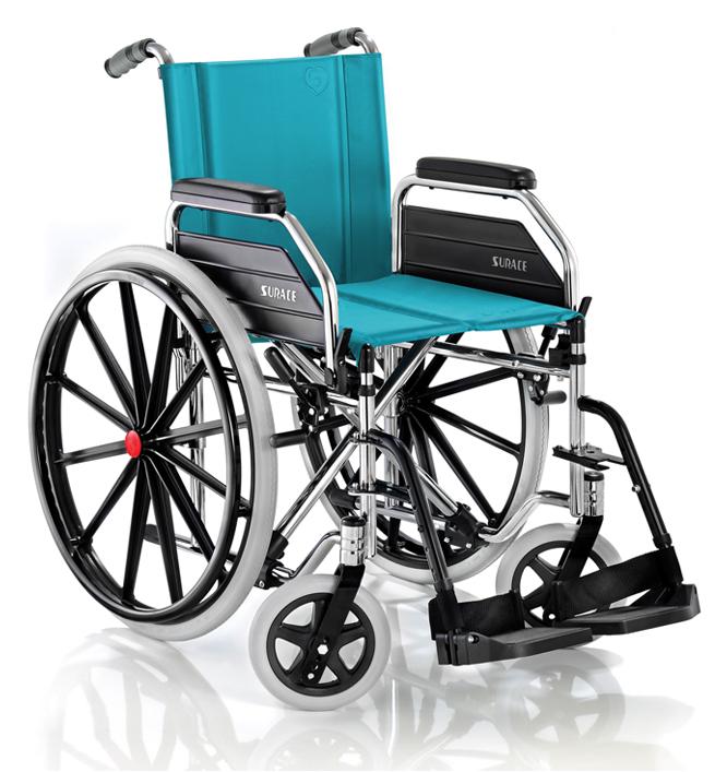Carrozzina pieghevole per disabili SQUILLO 400